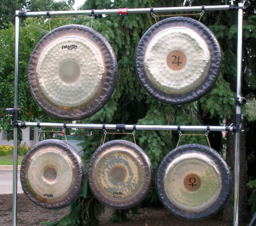 Gong Racks | Michael Bettine